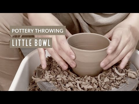 POTTERY WHEEL THROWING SESSION : LITTLE CERAMIC BOWL