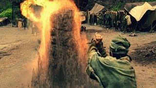 Повелитель стихий The Last Airbender \ Аанг освобождает магов земли от магов огня