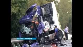 Авария на трассе М5 в Иглинском районе