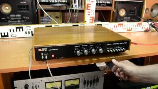 TESLA AZS 217 stereo amplifier