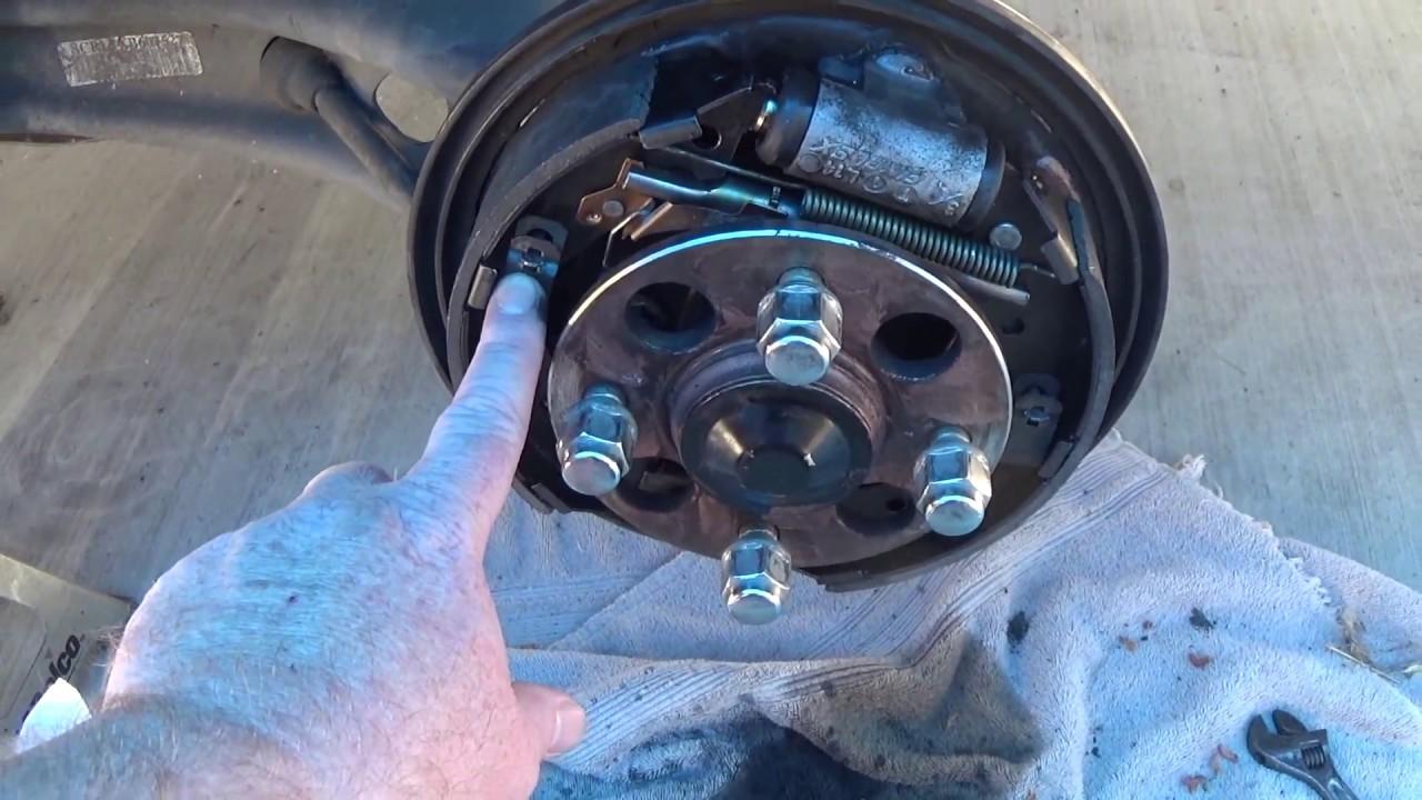1999 civic rear brake shoes Dirt Bike Brake Diagram