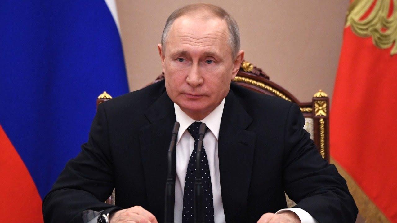 Срочное обращение Путина к россиянам из-за ситуации с коронавирусом от 25.03.2020. Полное видео MyTu