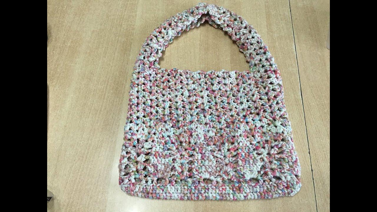 Bien-aimé Tuto sac a main au crochet 2/2 - YouTube DP51