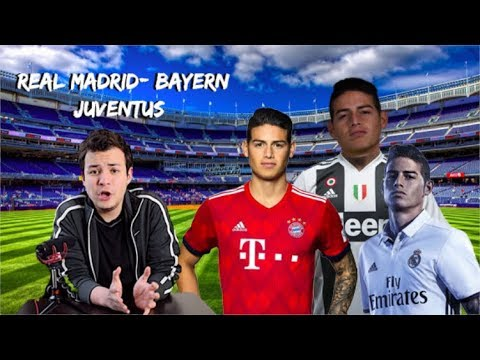 El destino de James Rodríguez  Bayern, Juventus, Real Madrid