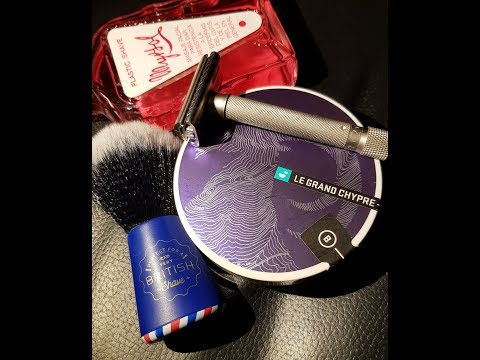 Barrister And Mann Le Grand Chypre - Wilkinson Graydog Brush - Parker Variant