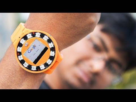 How I Made my own Smart Watch Under $20 - YouTube