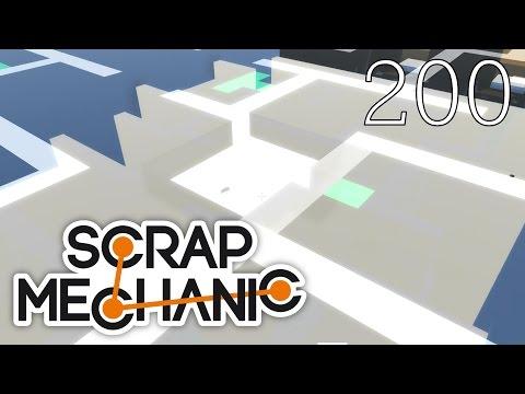 Scrap Mechanic [#200] NAJLEPSZY LABIRYNT EVER! Mapa by Cesar Games