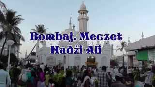 Indie. Bombaj. Meczet Hadżi Ali. Haji Ali Dargah.  حاجی علی درگاہ