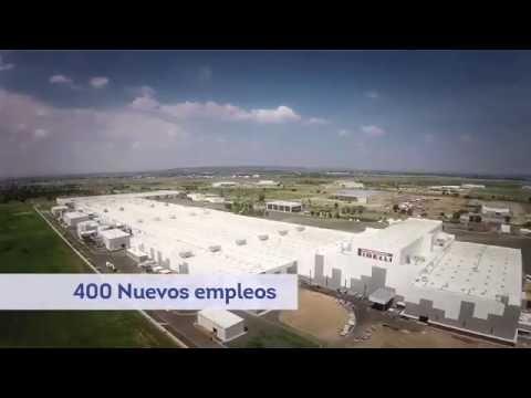 Primera Piedra de la Nueva Planta Pirelli en Guanajuato