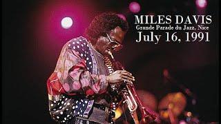 Miles Davis- July 16, 1991 Grande Parade du Jazz, Nice
