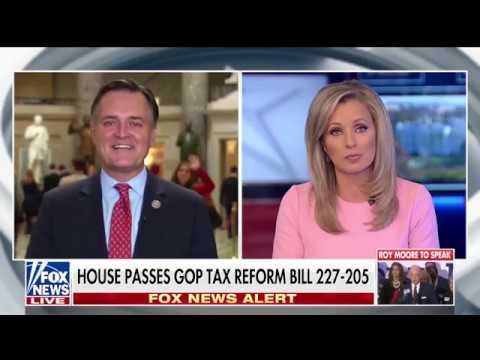 Luke Messer Talks Tax Cuts on Fox News