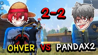 Free fire 2-2 OHVER VS PANDAX2