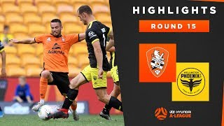 Highlights: Brisbane Roar FC v Wellington Phoenix – Round 15 Hyundai A-League 2019/20 Season