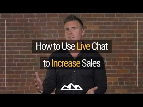 How To Use Live Chat To Increase Sales