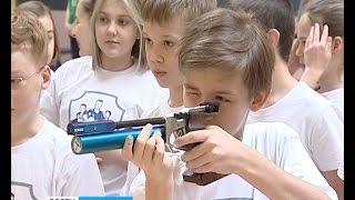 Калининградские школьники попробовали себя в современном пятиборье