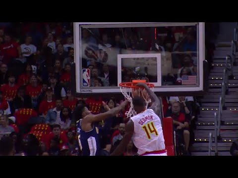 Dewayne Dedmon Throws Down Monster Dunk vs. Nuggets