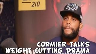 Daniel Cormier discusses weight cutting drama