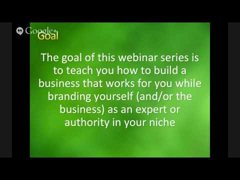 How Small Business Owners can make money online & become more profitable - Day 1 [Full length]