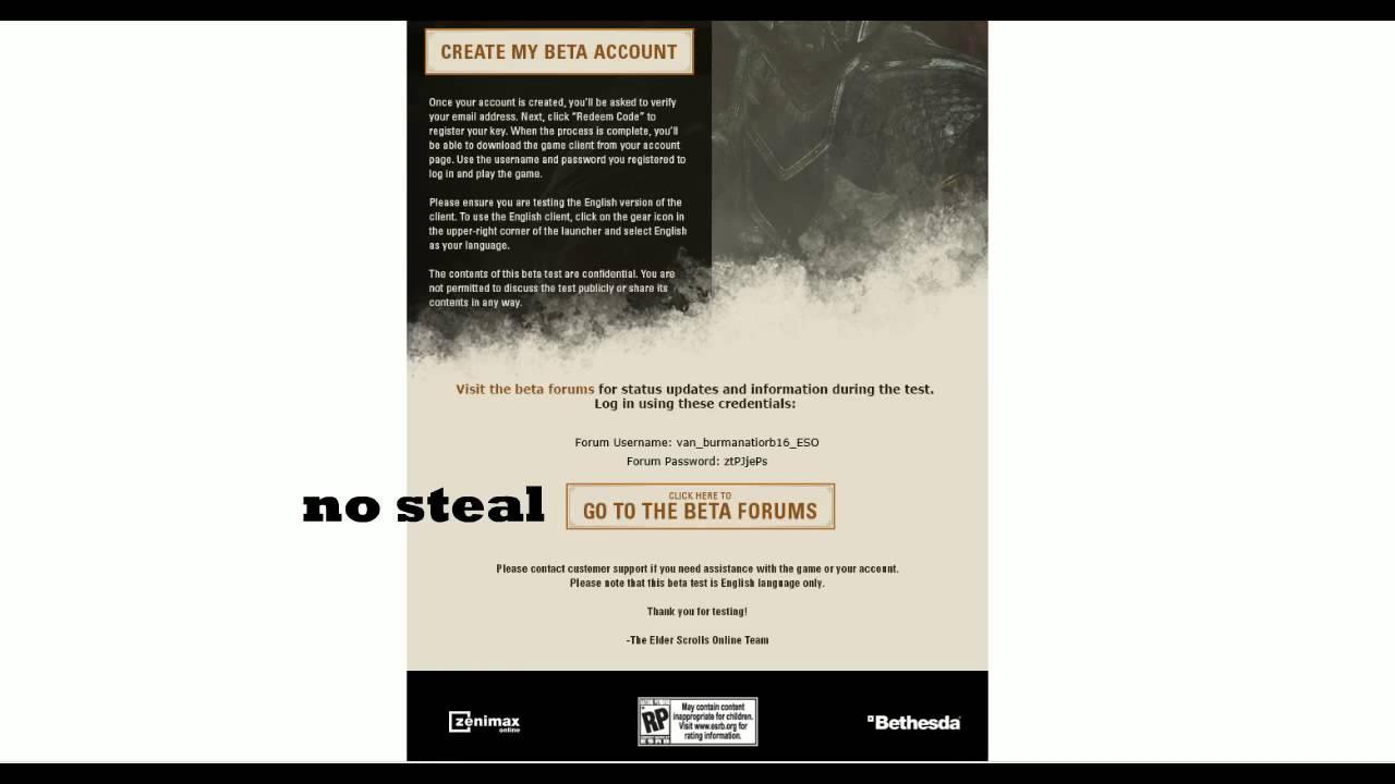 The Elder Scrolls Online Email!!!