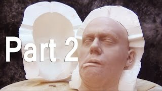 getlinkyoutube.com-Severed Head Mold Part 2: Casting A Silicone Head