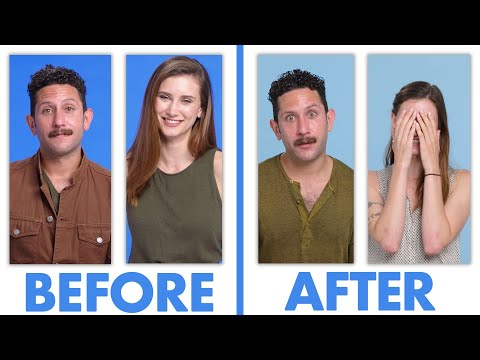 Interviewed Before And After Our First Date - Ashley & Julian | Glamour