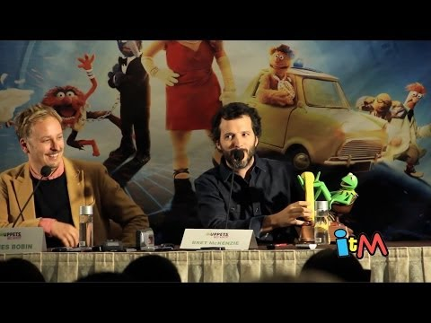 Muppets Most Wanted filmmaker press conference with director, producer, songwriter