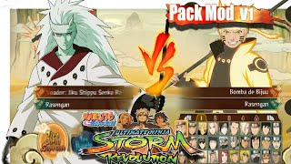 Naruto Storm Revolution - MOD PACK V1 (Select)