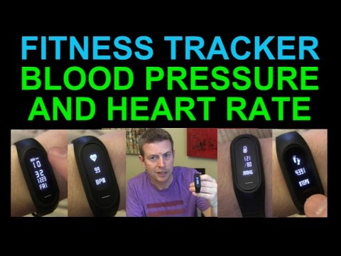 Fitness Tracker W Blood Pressure Monitor, Heart Rate, Steps, Calories, Sleep Monitoring, Bozlun