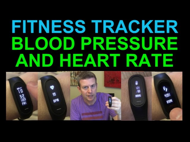 Fitness Tracker W Blood Pressure Monitor Heart Rate Steps Calories Sleep Monitoring Bozlun