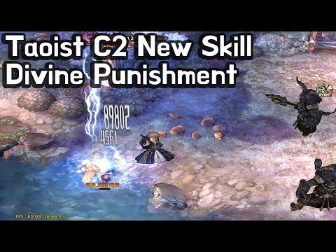 [TOS] Taoist C2 New Skill (Divine Punishment)