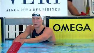 Sarah Sjostrom's 23.96 50 Freestyle at Mare Nostrum Barcelona