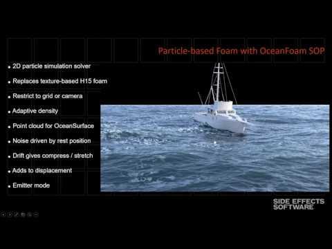 Houdini 16 Masterclass   Ocean Tools HD 2