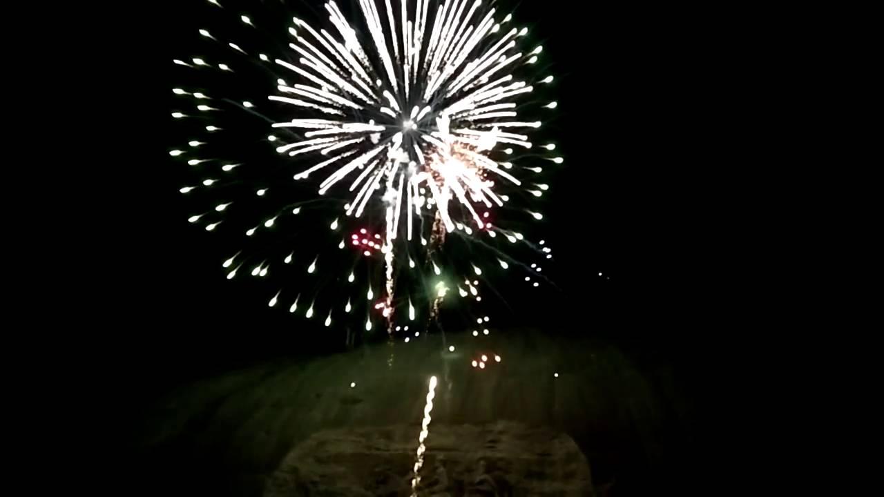 firework show at stone mountain geogia youtube
