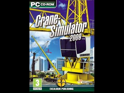 Crane Simulator 2009 - Liebherr Mobile Harbour Crane LHM 500