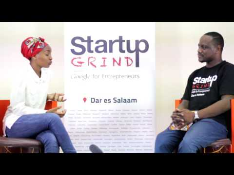 REBECCA GYUMI AT START UP GRIND DAR ES SALAAM