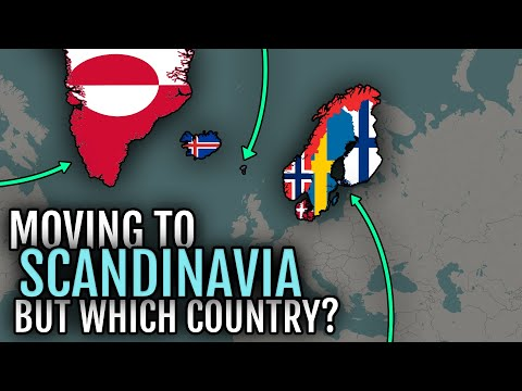 Moving to Nordic countries - Which country is best? 🇬🇱 🇮🇸 🇫🇴 🇩🇰 🇳🇴 🇸🇪 🇫🇮