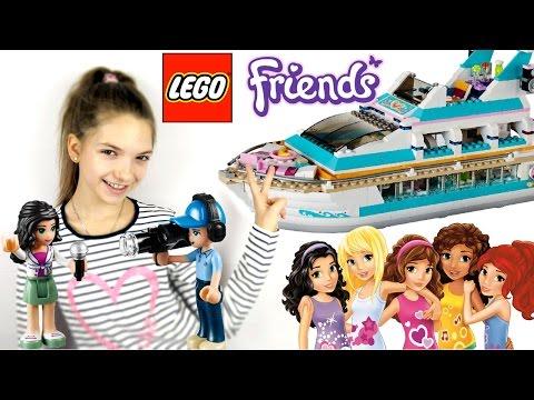Город Лего Френдс (Lego Friends) и лучшая подружка Света. Игры для детей.