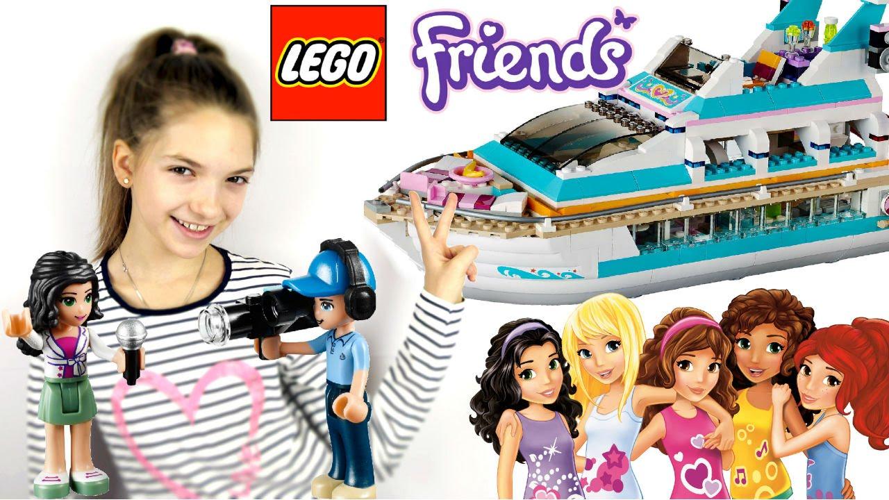 Город Лего Френдс и Света. игры для девочек - YouTube
