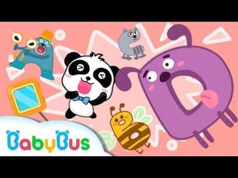 ABC Tumble Down D | ABCのうた | 赤ちゃんが喜ぶ英語の歌 | 子供の歌 | 童謡  | アニメ | 動画 | BabyBus HD