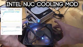 Intel Nuc Cooling Mod