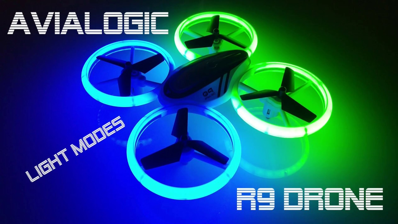 Avialogic R9 Drone - Light modes