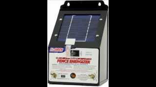 Fence Charger   Great Product Fi-Shock SS-440 Solar-Powered Low Impedance