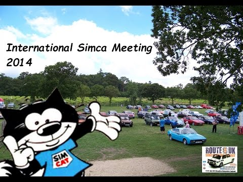 Passion Horizon TV - Route UK, International Simca Meeting 2014