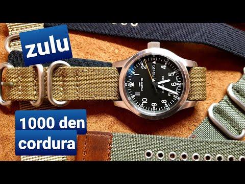NEW 1000 Den CORDURA Zulu Watch Straps | EDC GUNNER