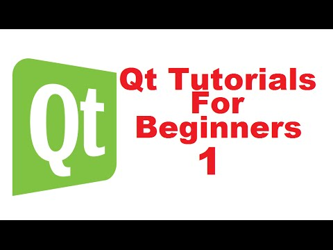 Qt Tutorials For Beginners 1 - Introduction