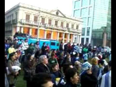 Uruguay - Ghana - Plaza Independencia - 2