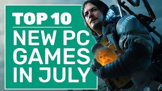 Top 10 New PC Games For July 2020