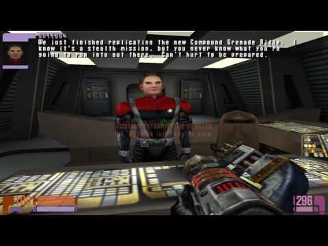 Let's Play Star Trek Elite Force Part 4: Scavenger Hunting