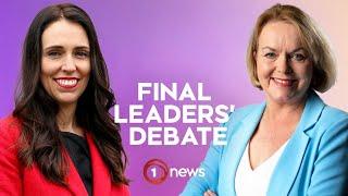 Final Election Debate - Jacinda Ardern v Judith Collins