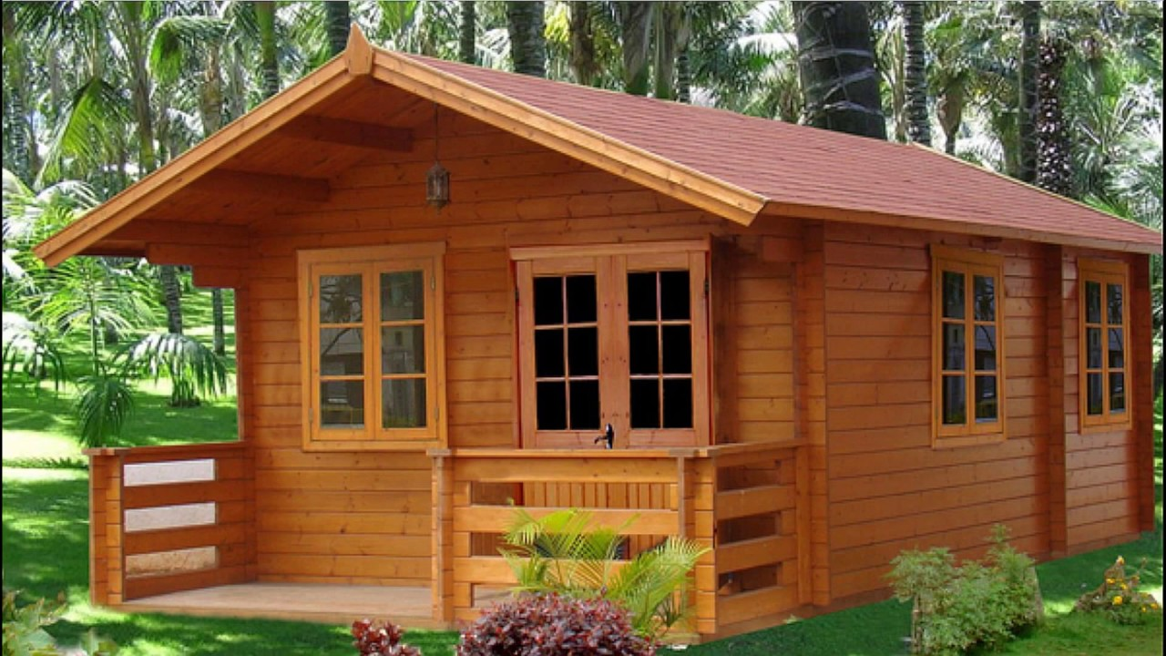 30 Simple Nice Wooden House Design